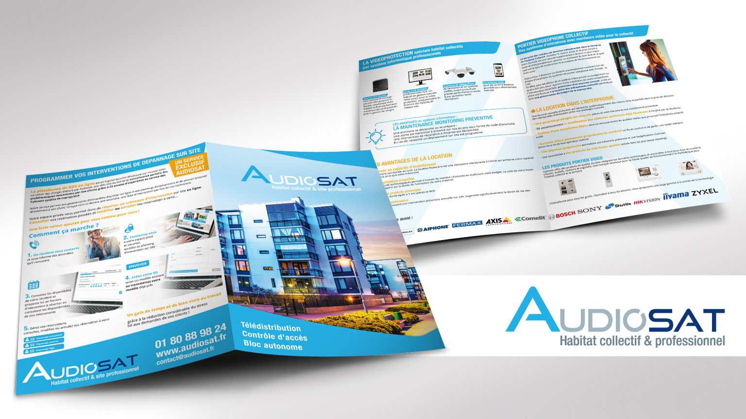 communication-Audiosat-plaquette-A4-2volet-1pli